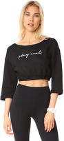 Free People Graphic Sunrise Sweatshirt