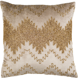 Safavieh Gold Sparkle Pillow