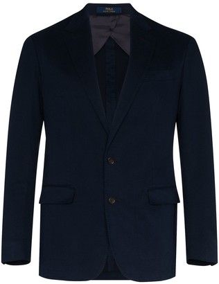 Polo Ralph Lauren Single-Breasted Blazer Jacket