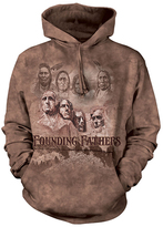 The Mountain Brown 'Founding Fathers' Hoodie - Unisex