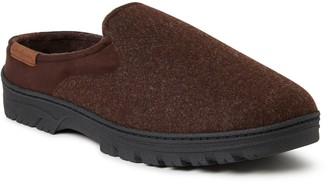Dearfoams Men's Microwool Clog Slippers - Oscar