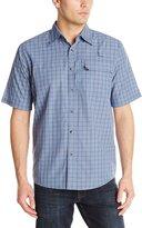 Wrangler Men's Authentic Short Sleeve Utility Shirt
