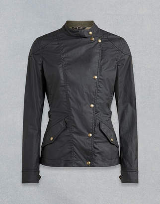 Belstaff BRADY WAXED JACKET Black UK 6 /