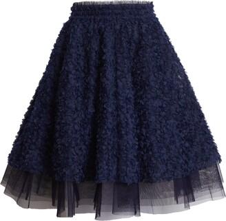 Halogen x Atlantic-Pacific Floret Full Skirt