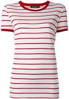 Dolce & Gabbana striped T-shirt - women - Cotton - 42