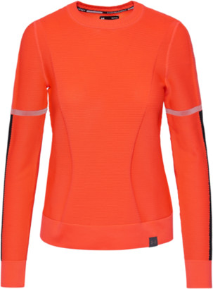 Under Armour Run IntelliKnit Long-Sleeve Top - Beta Red / Black Reflective