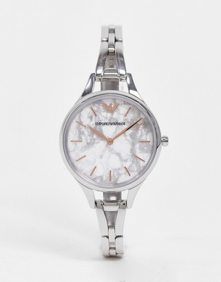 Emporio Armani silver watch