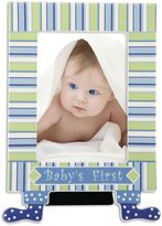 Gorham Little Boy Blue Baby's First Picture Frame with Feet