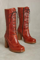 Cubanas Lace-Up Highfield Boots