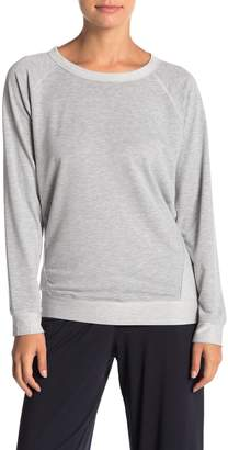 French Connection Paneled Crew Neck Pullover