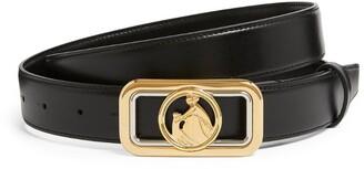 Lanvin Logo-Buckle Belt
