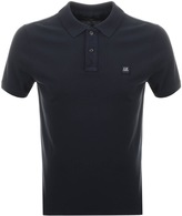 C.P. Company Short Sleeved Polo T Shirt Navy