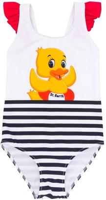 Mc2 Saint Barth Kids Daisy Duck swimsuit