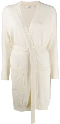 Chinti and Parker Cashmere Belted Cardigan