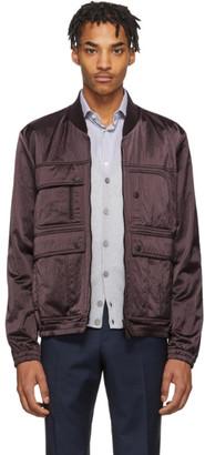 Ermenegildo Zegna Purple XXX Bomber Jacket