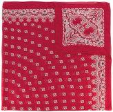 Saint Laurent bandana print scarf
