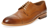Gordon Rush Medallion Cap-Toe Derby