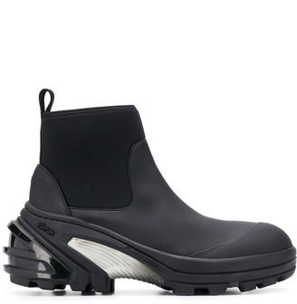 Alyx chunky heel slip-on boots