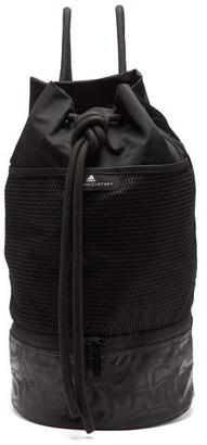 adidas by Stella McCartney Gym Sack Canvas Shoulder Bag - Black