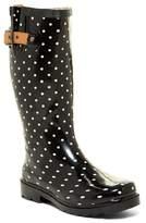 Chooka Classic Dot Waterproof Rain Boot