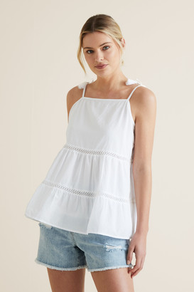 Seed Heritage Frill Tier Cami