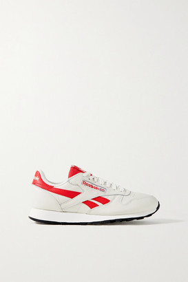 Reebok Classic Leather And Mesh Sneakers - Off-white