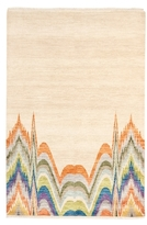 F.J. Kashanian Motion Hand-Knotted Wool Rug