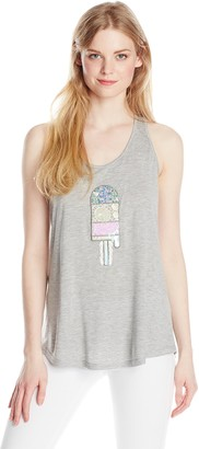 Greylin Women's Lester Popsicle Applique Tank Top