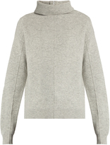 Joseph High-neck boiled-wool sweater