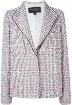 Giambattista Valli buttoned tweed jacket