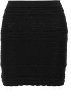 Etoile Isabel Marant Sola crocheted cotton-blend mini skirt