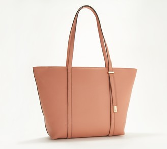 Vince Camuto Top-Zip Saffiano Leather Tote Bag - Didi