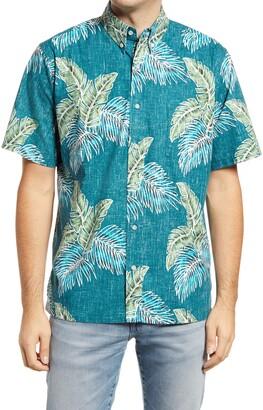 Reyn Spooner Rain Forest Trail Short Sleeve Button-Down Shirt