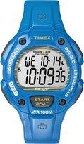 Timex Men's Ironman T5K685 Blue Resin Quartz Watch with Dial