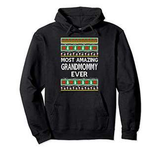 IDEA Xmas Gifts for Grandmommy Ugly Christmas gift Pullover Hoodie