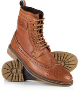 Superdry Brad Brogue Leather Boots