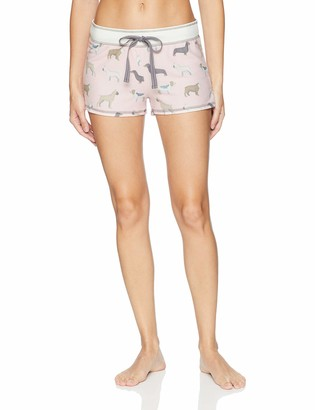 PJ Salvage Women's Cozy Lounge Pajama Shorts