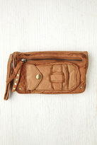 Free People Womens Distressed Leather Wallet