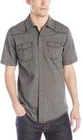 Burnside Men's Thorn Plaid Woven Shirt