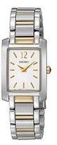 Seiko Women's SUJG25 Dress White Dial Watch