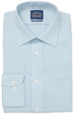 Eagle Men's Slim-Fit Non-Iron Stretch Collar Dress Shirt