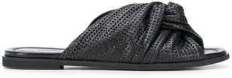 Christian Wijnants Perforated Slides