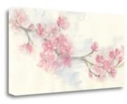 """Tangletown Fine Art Cherry Blossom Ii by Chris Paschke Giclee Print on Gallery Wrap Canvas, 47"""" x 24"""""""