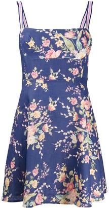 Zimmermann Zinnia floral-print A-line mini dress