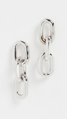 Theia Melia Large Rounded Paper Clip Trip Earrings