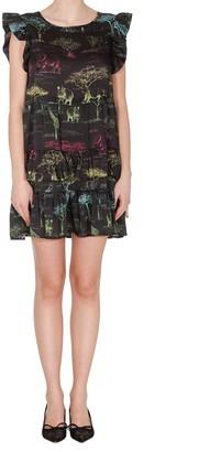 5 PROGRESS Pleated Mini Dress