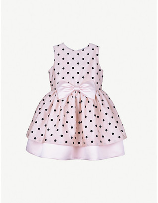 Hucklebones London Polka dot tiered tulle dress 4-12 years