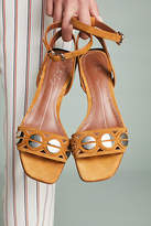 Lola Cruz Half Moon Heeled Sandals