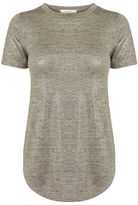 """Oasis METALLIC PERFECT TEE [span class=""""variation_color_heading""""]- Pale Pink[/span]"""