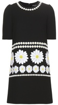 Dolce & Gabbana Wool dress with appliqué